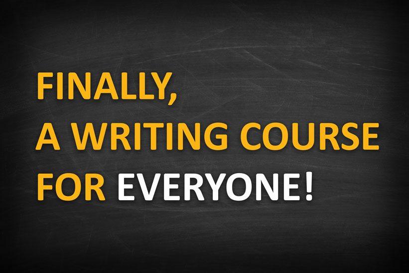 ESL composition course
