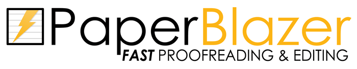 PaperBlazer | Fast Proofreading & Editing Service