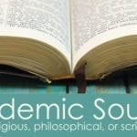 Academic Resources for Religious/Philosophical/Scriptural Study