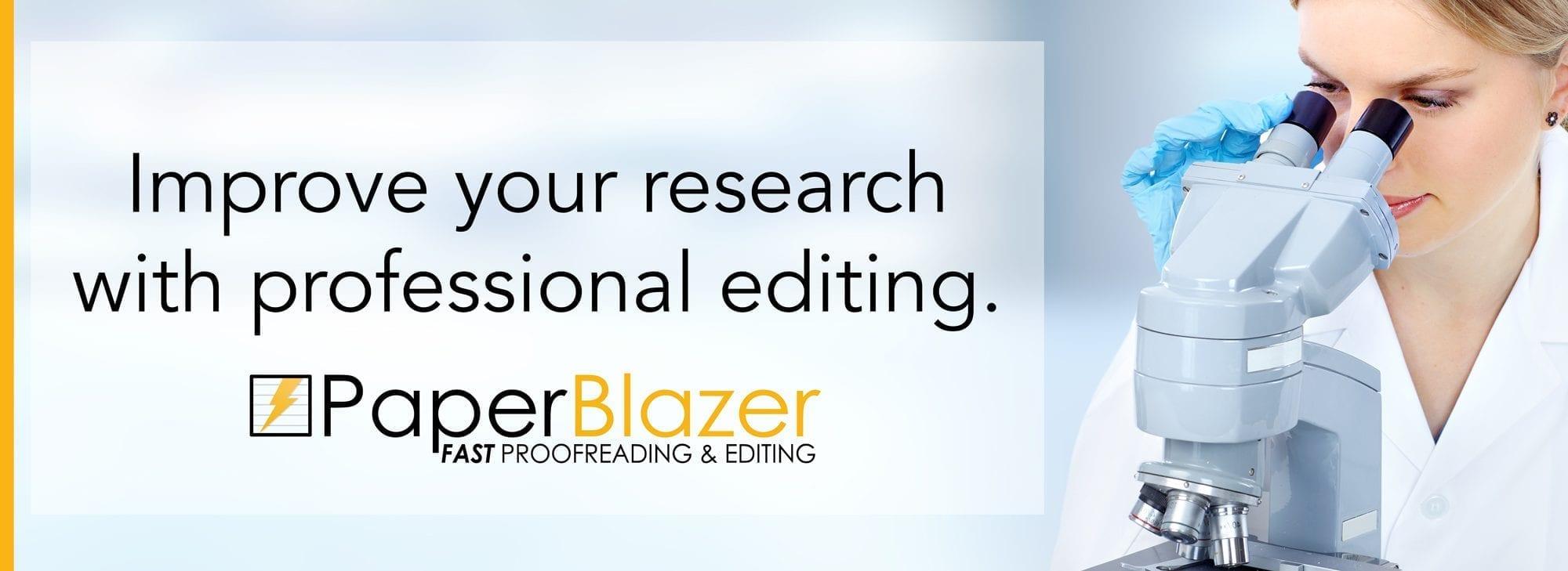 proofreading scientific paper